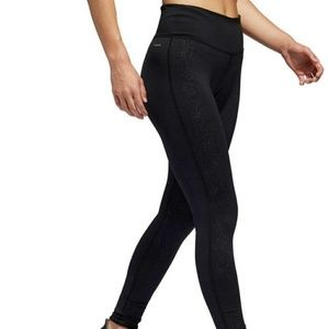 Adidas Women's Embossed Running Tights